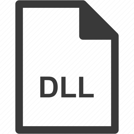 dll, extension, file format, file type icon