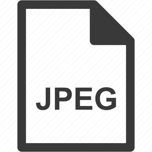 extension, file format, file type, jpeg icon