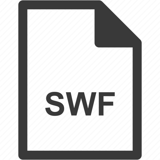 extension, file format, file type, swf icon