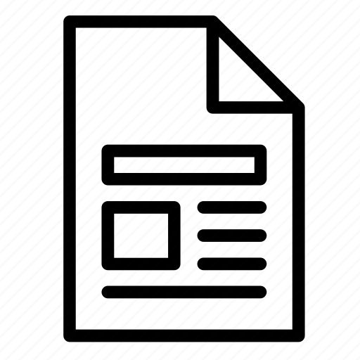 document, file, format, image, page, pdf, txt icon