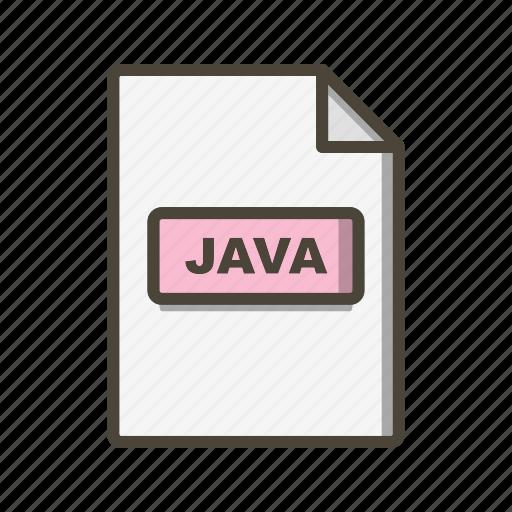 Java, file, format icon - Download on Iconfinder
