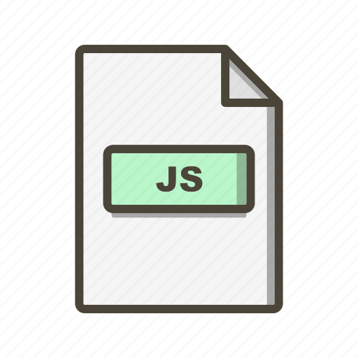 file extension, file format, js icon