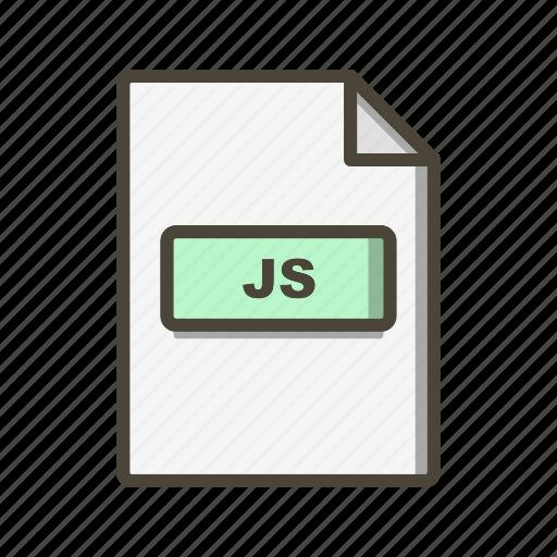 Js, file, format icon - Download on Iconfinder on Iconfinder