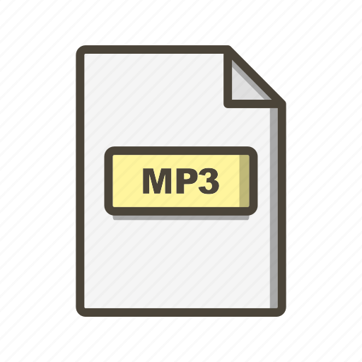 Mp3, file, format icon - Download on Iconfinder