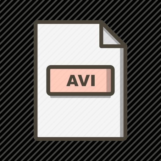 Avi, file, format icon - Download on Iconfinder