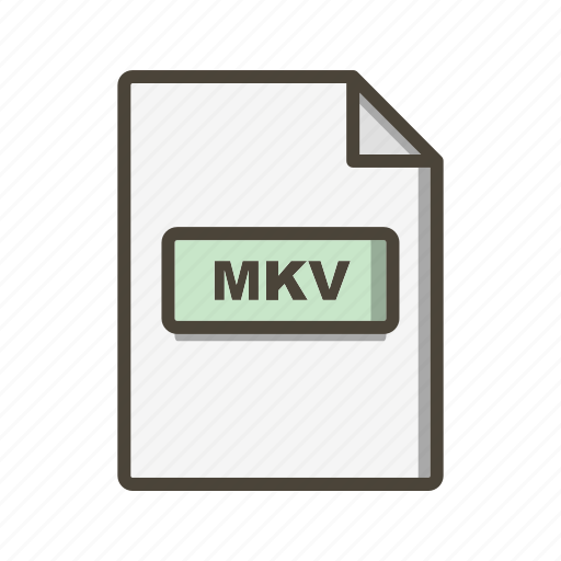 file, file extension, format, mkv icon