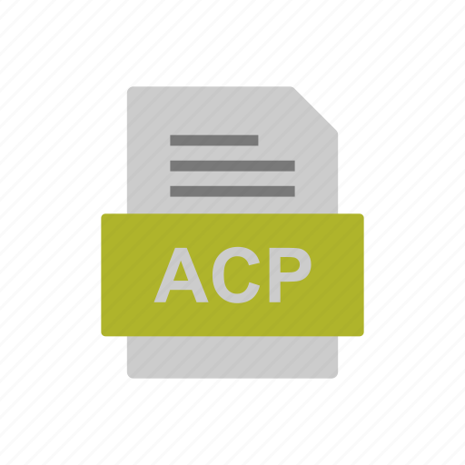 Acp, document, file, format icon - Download on Iconfinder