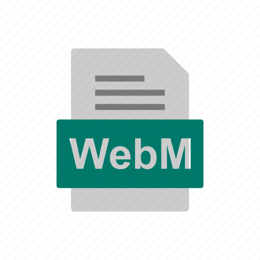 Document, file, format, webm icon - Download on Iconfinder
