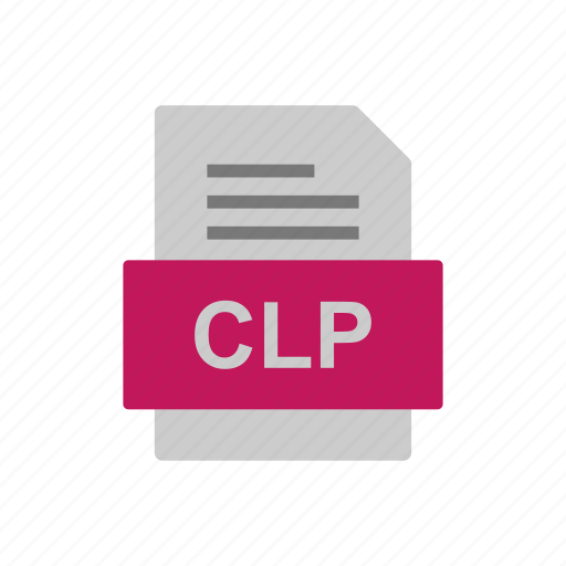 Clp, document, file, format icon - Download on Iconfinder