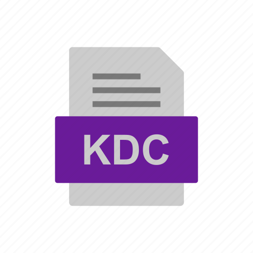 Document, file, format, kdc icon - Download on Iconfinder