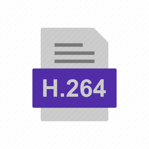 Document, file, format, h.264 icon - Download on Iconfinder
