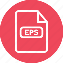eps, eps document, eps file, eps format, eps vector icon