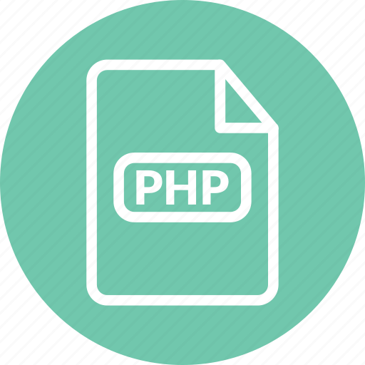 php, php document, php file, php format, php script icon