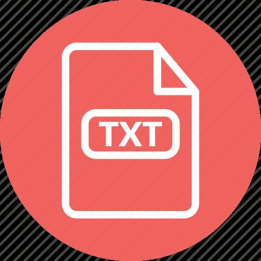 text document, text file, text format, txt, txt file, txt format icon
