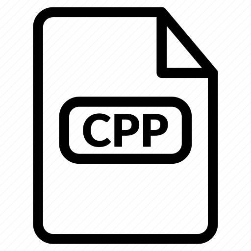 c plus plus, c++, cpp, cpp document, cpp format icon
