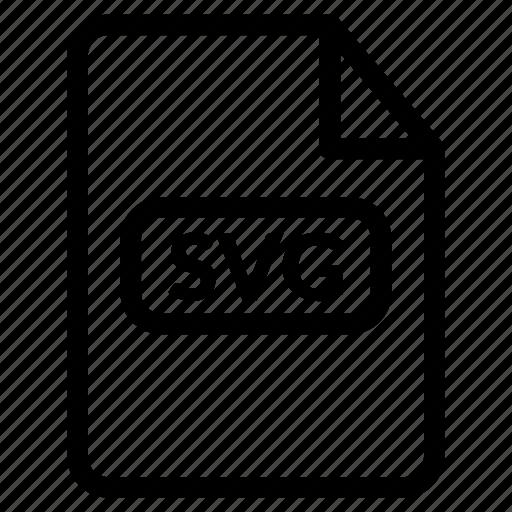 Svg File Svg Format Svg Vector Icon Download On Iconfinder