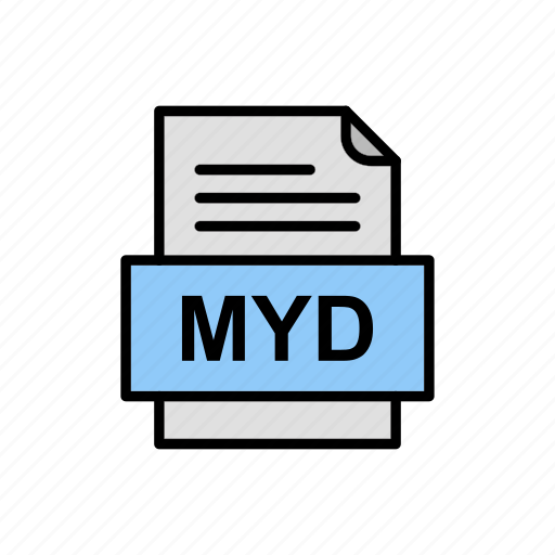 Document, file, format, myd icon - Download on Iconfinder