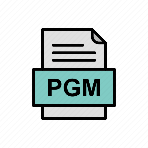 Document, file, format, pgm icon - Download on Iconfinder