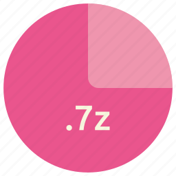 7z, compression, data, extension, file, format icon