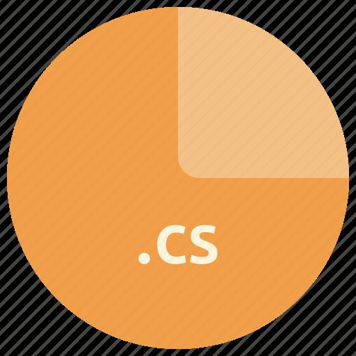 c sharp, cs, extension, file, format, language, programming icon
