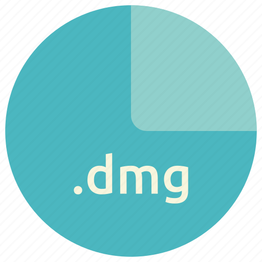 dmg, extension, file, format icon