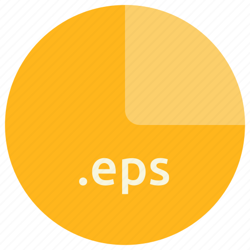 eps, extension, file, format, post script icon