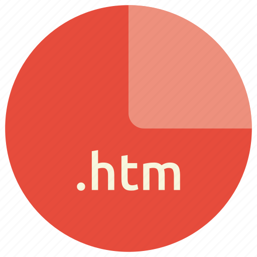 extension, file, format, htm, markup, web icon