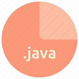 extension, file, format, java, language, programming icon