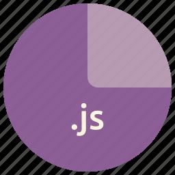 extension, file, format, javascript, js, language, scripting icon