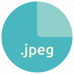 extension, file, format, image, jpeg, photo icon