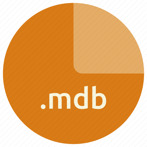 extension, file, format, mdb icon