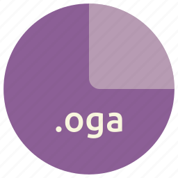 audio, file, format, multimedia, oga, open icon