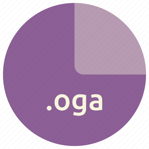 audio, file, format, multimedia, oga, open icon