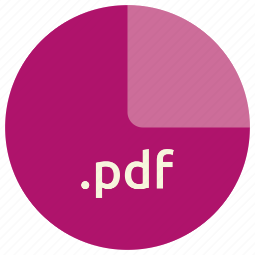 extension, file, format, pdf icon