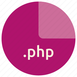 extension, file, format, language, php, scripting icon