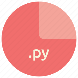 extension, file, format, language, py, python icon