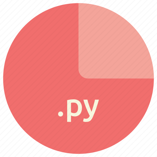 extension, file, format, language, py, python icon