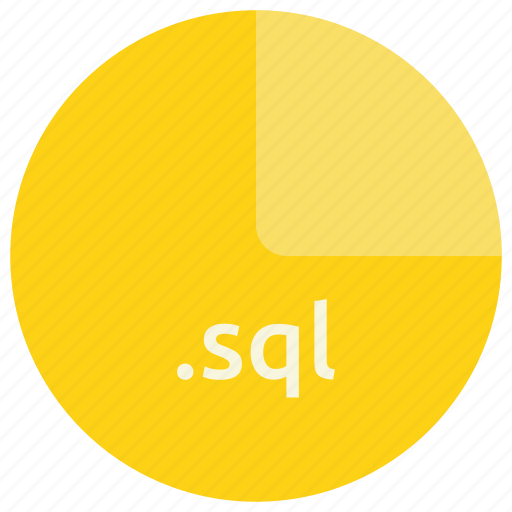 database, db, extension, file, format, sql icon