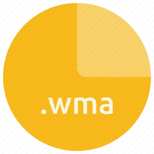 audio, extension, file, format, multimedia, wma icon