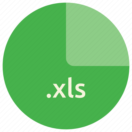 extension, file, format, open, standard, xls icon
