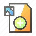 add, data, document, file management, image