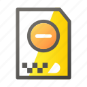 archive, cancel, data, document, file management