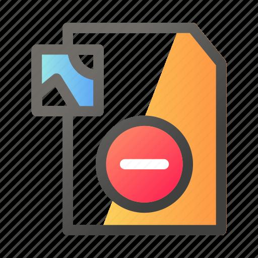cancel, data, document, file management, image icon