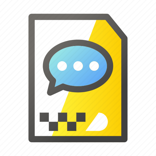 archive, chat, data, document, file management icon