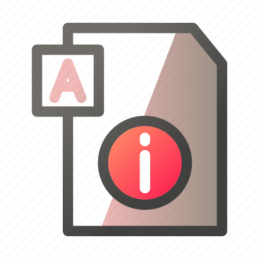 Data, document, file management, info, text icon - Download on Iconfinder