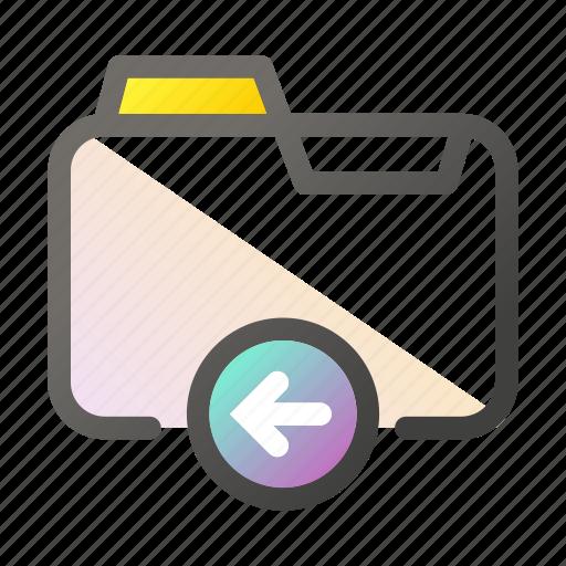 data, document, file management, folder, left icon
