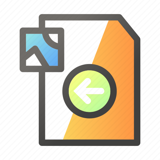 Data, document, file management, image, left icon - Download on Iconfinder