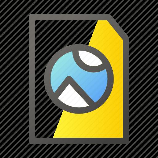 data, document, file management, photo icon