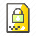 archive, data, document, file management, protection icon