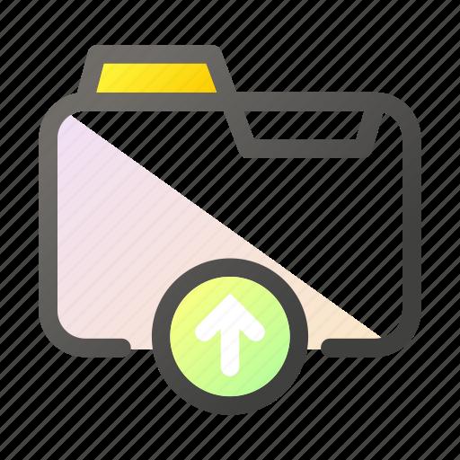 data, document, file management, folder, upload icon